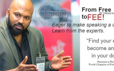 Pathways to Professionalism | Toastmaster magazine, August 2015 | by Craig Harrison, DTM