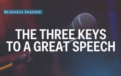 """A world champion public speaker gave us his top 3 presentation tips"" – Business Insider"